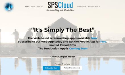 If You're A Screenwriter, Start Using SPSCloud