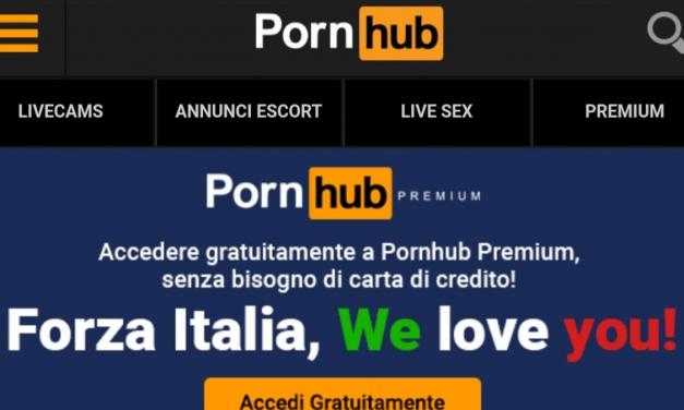 Pornhub Premium Content Free in European Countries Amid Coronavirus