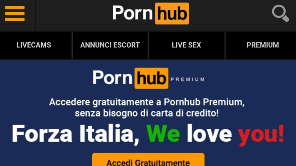 Porn Hub Pick Up French pornhub premium content free in european countries amid