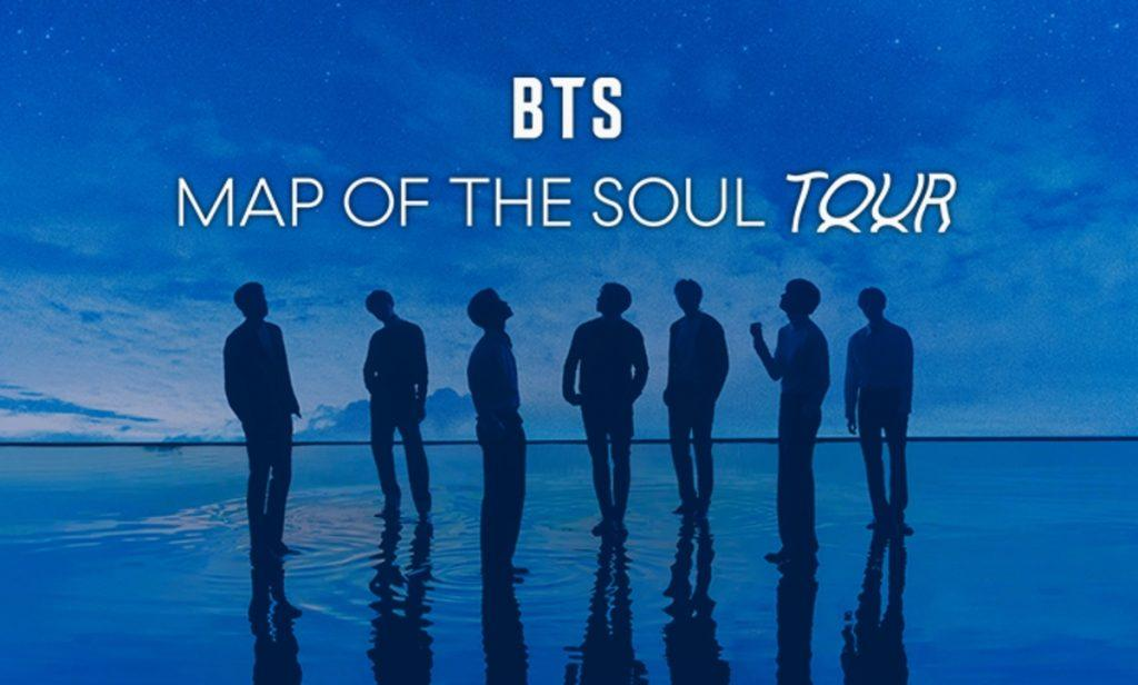bts map of the soul tour promo