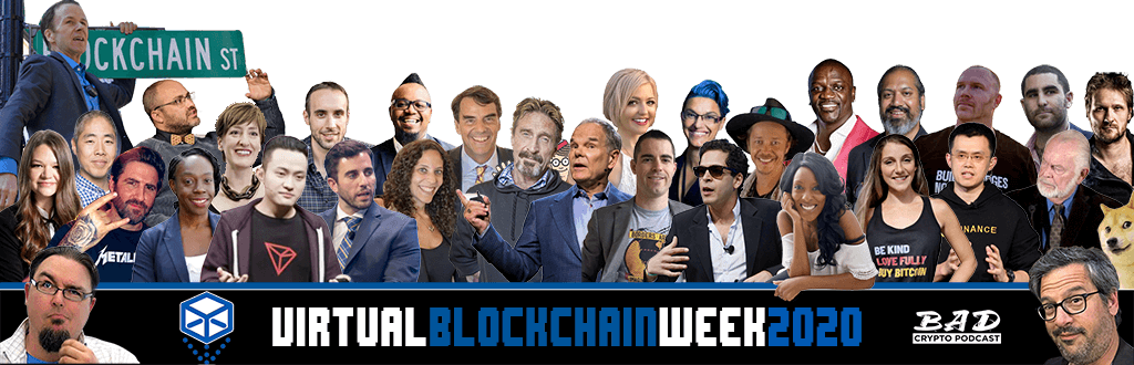Virtual Blockchain Week starts today – here's what to expect