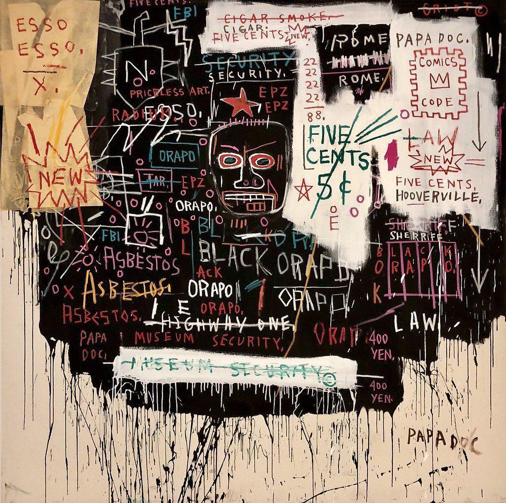 haring basquiat virtual exhibit