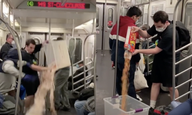 A TikTok User Pulled A Prank On The Subway, Now He's Under Investigation By The NYPD