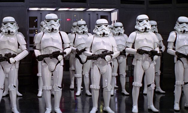 Peaceful Stormtrooper Arrested By Canadian Cops on Star Wars Day