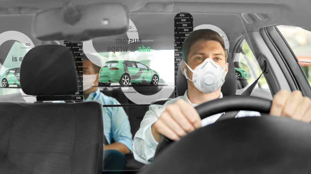 rideshare ad shield to protect against coronavirus