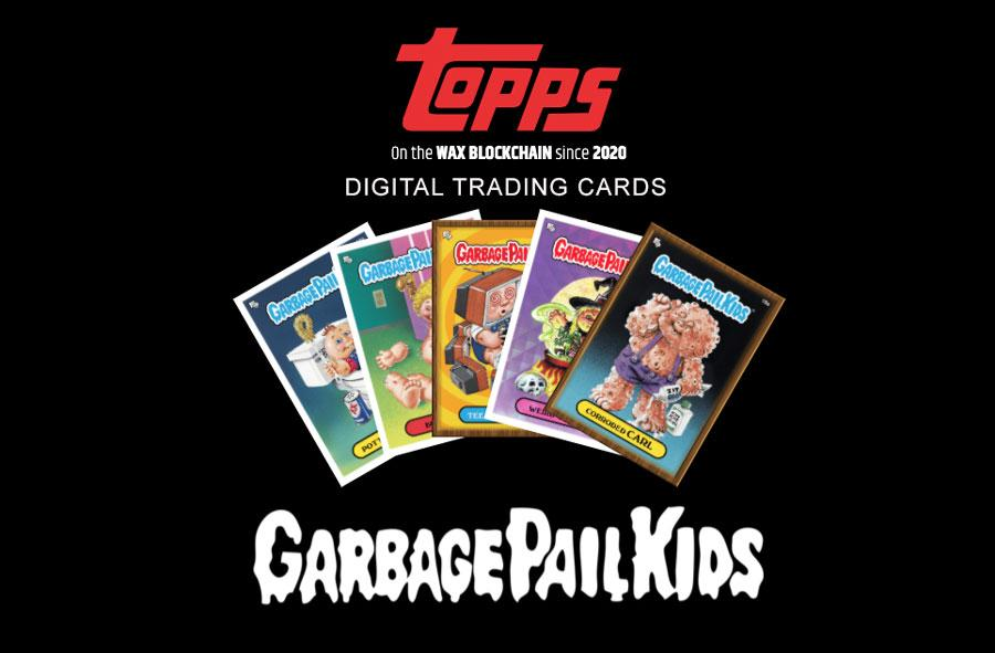 Topps Garbage Pail Kids on Blockchain