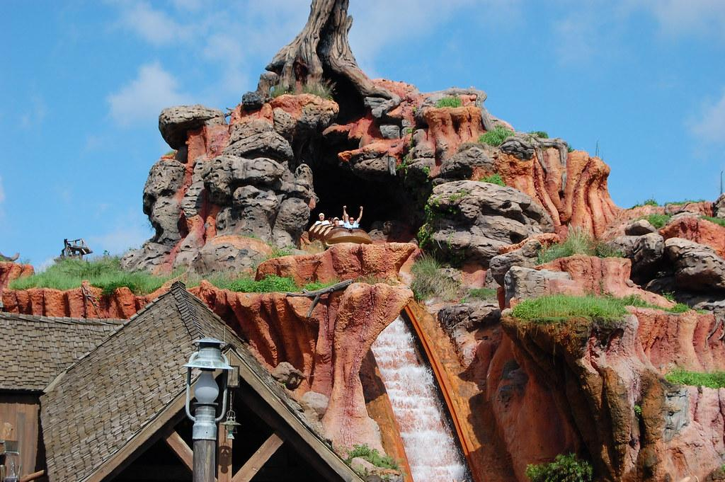 Disney reimagines splash mountain