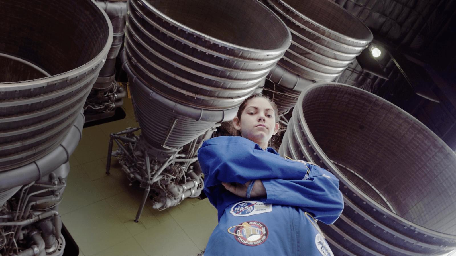 space enthusiast Alyssa Carson