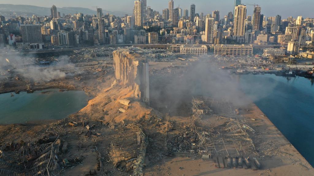 lebanon port explosion