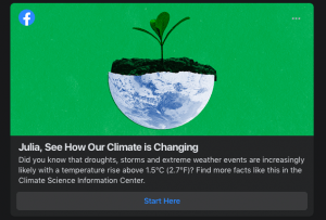 climate change information