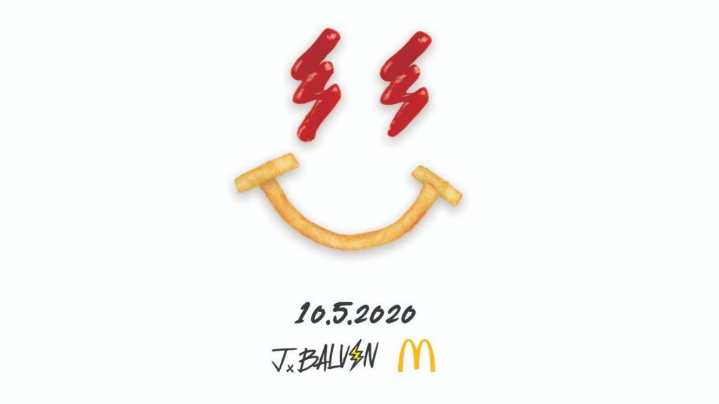 J Balvin and McDonalds