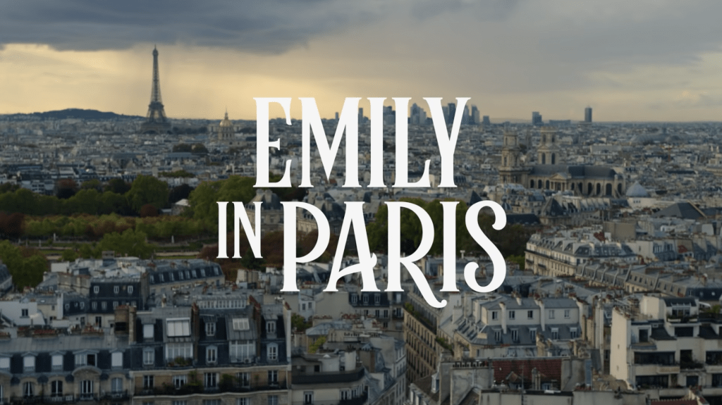 Emily in Paris Title Card