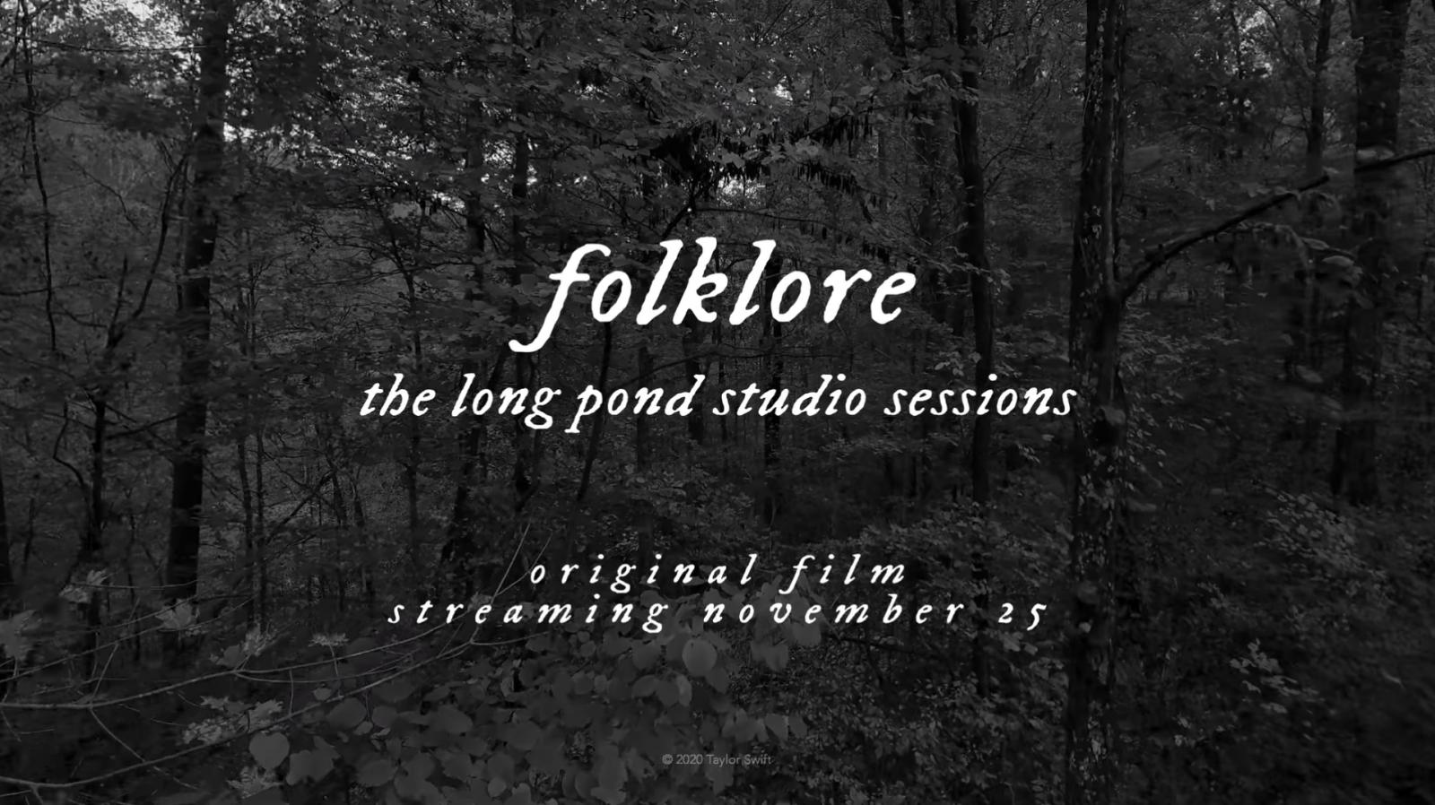 Taylor Swift Folklore Concert Film