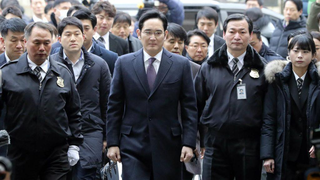 lee jae yong sentenced to prison