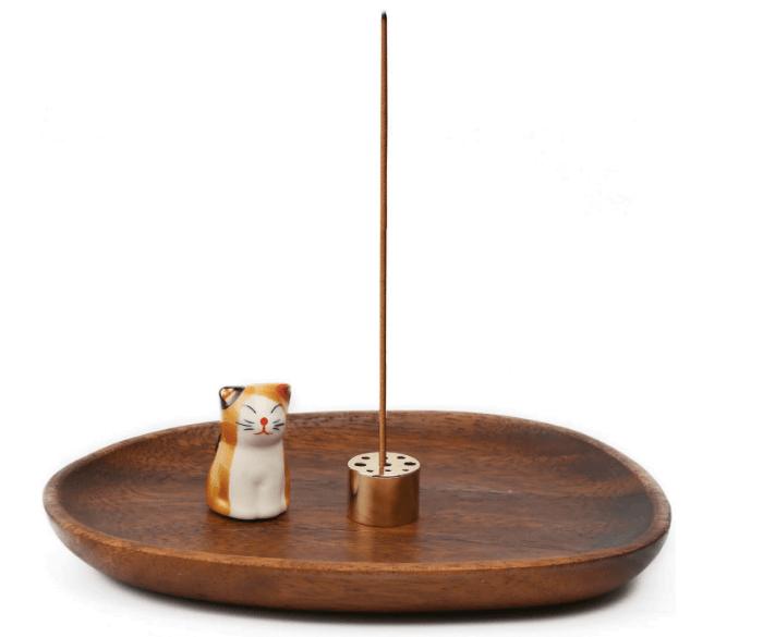 YKB Wooden Incense Stick Holder