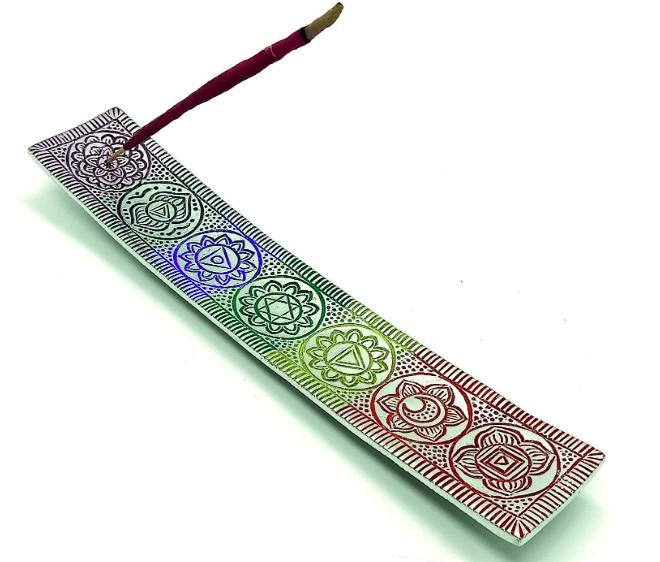 CALMVEDA Chakra Incense Stick Holder
