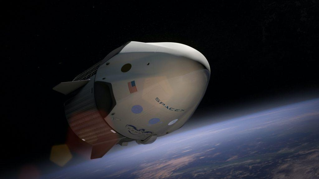 spacex civilian launch