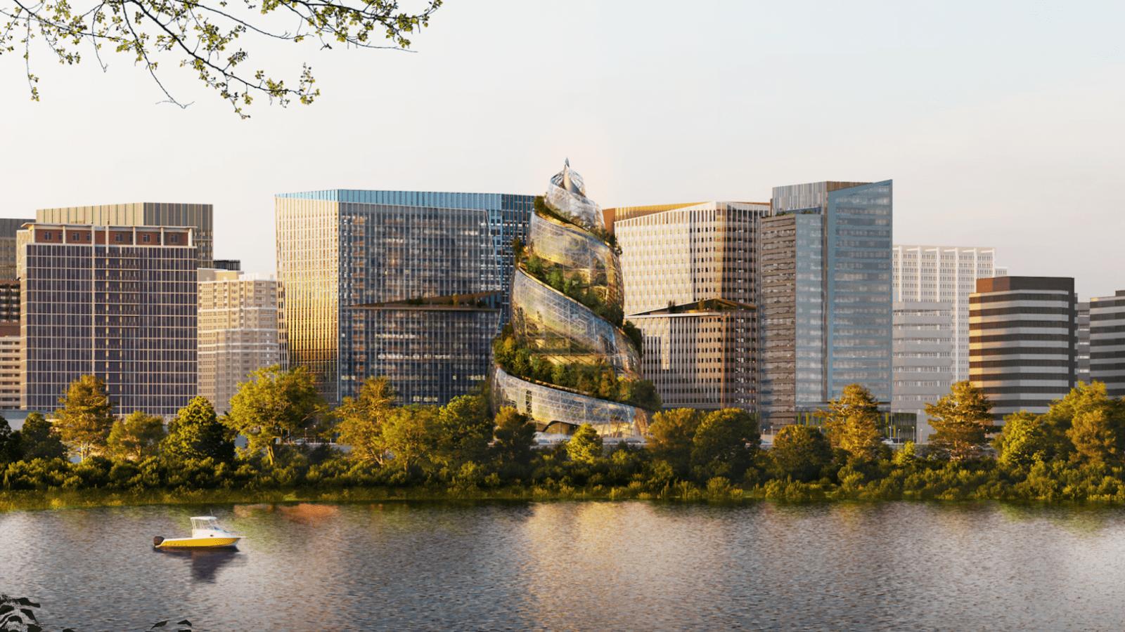 new amazon headquarters