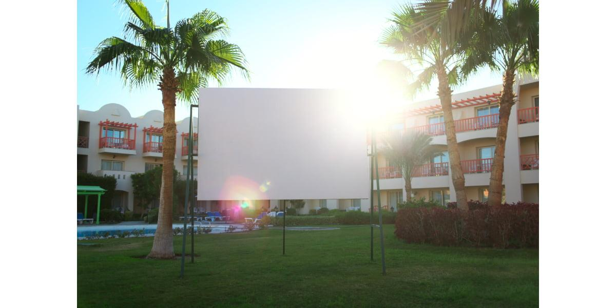 outdoor projection screen 2021
